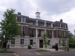 Zoological Society of London building on Outer Circle (ZSL Offices & Library)