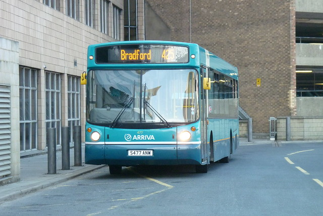 S477ANW Arriva Yorkshire DAF SB220 477 by Sharksmith