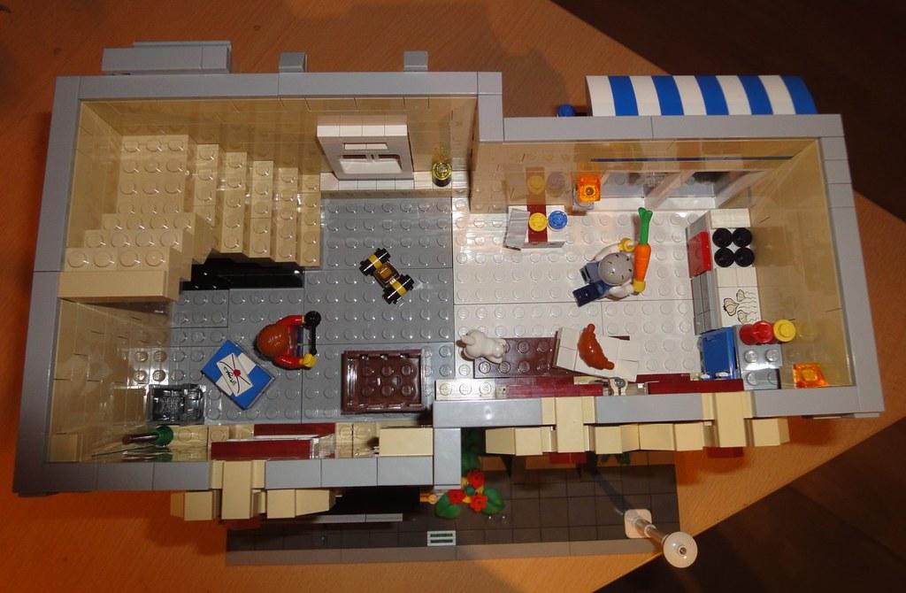 Lego Modular Town House Interior Flickr Photo Sharing