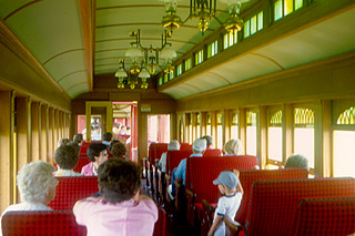 Strasburg Rail Road - Inside the Train