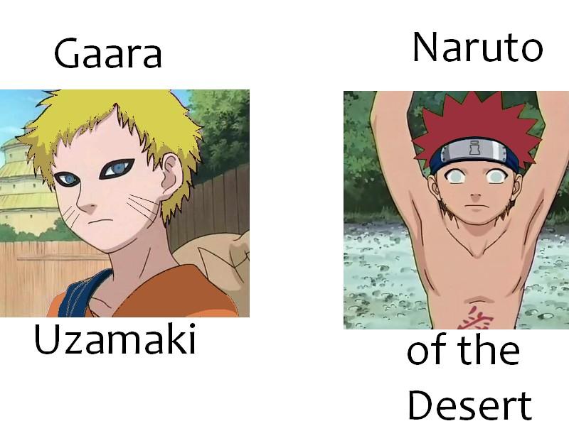 Gaara Uzamaki and Naruto of the Desert | If Gaara and ... Gaara And Naruto Kids