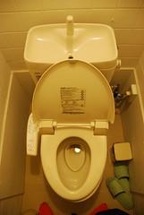 urinal(0.0), sink(0.0), toilet(1.0), room(1.0), public toilet(1.0), plumbing fixture(1.0), toilet seat(1.0), bidet(1.0),