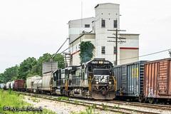 NS 8768   GE C40-9   CN Memphis Subdivision