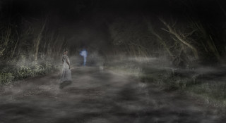 Spooky Road (Photoshop composite) | by gizmo-the-bandit
