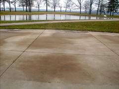 driveway, concrete, road surface, walkway,