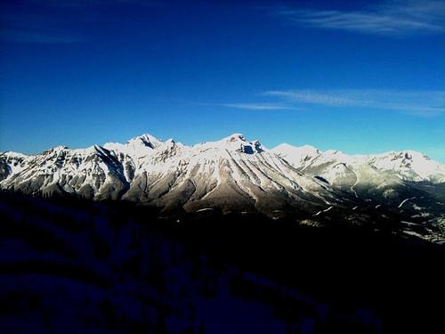 winter mountains skiing fernie