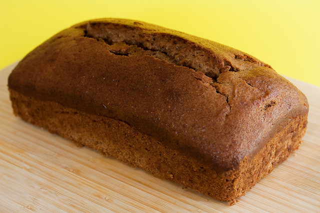Yeasted Vegan Banana Bread