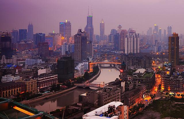 Shanghai - Wusong river