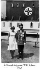 1967, Schützenkönigspaar Lilly und Willi Schorn, SW104