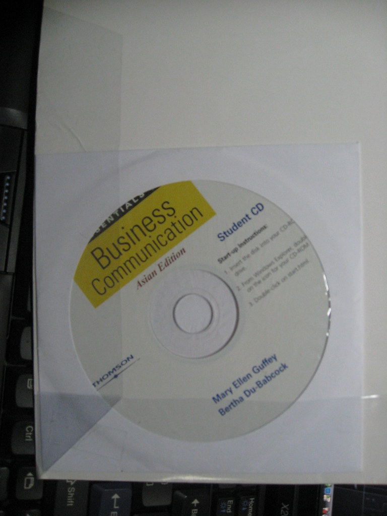Essentials of Business Communication ?CD
