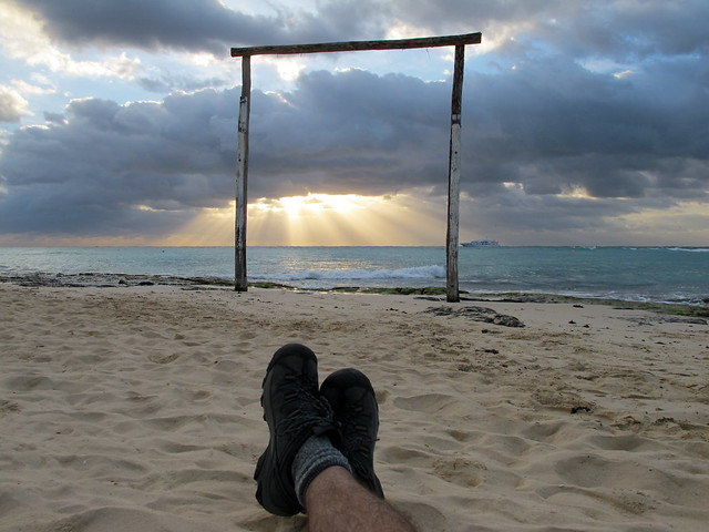 Playa del Carmen - Sunrise Boot Shot