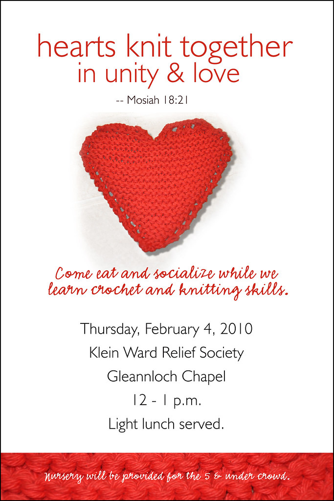 Knitting Hearts Together : Knitting