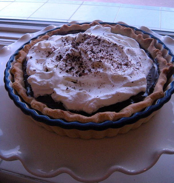 chocolate pudding pie | Flickr - Photo Sharing!