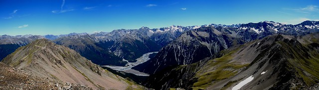 Panorama - Arthur's Pass - Avalanche Peak Trek 10