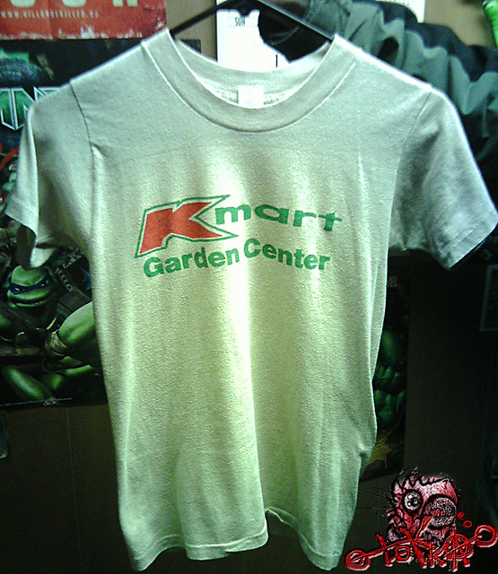 Kmart garden center employee t shirt adult small i for Kmart shirts for employees