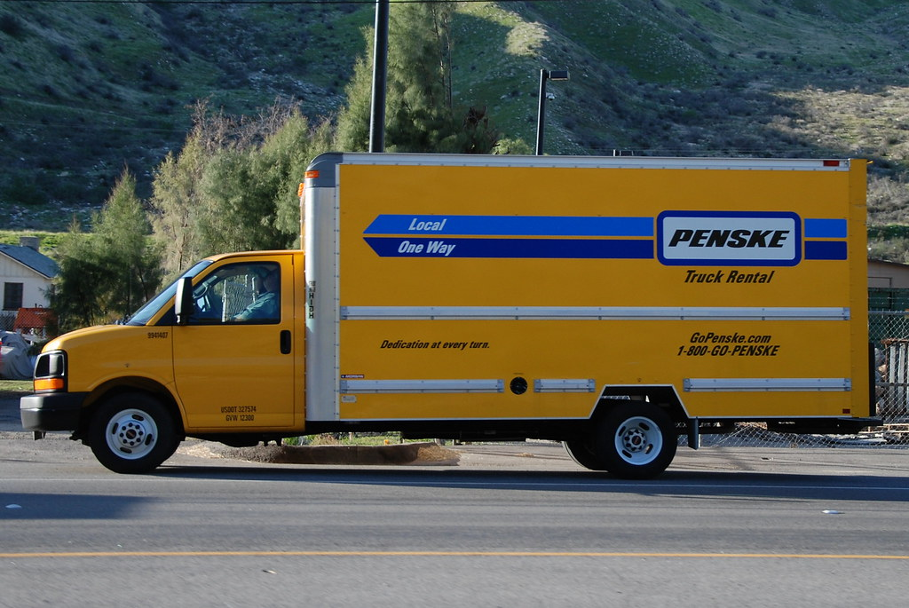 Moving Truck Penske Moving Truck Rates