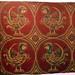 Jouarre Abbey, pheasants on silk, 7thc