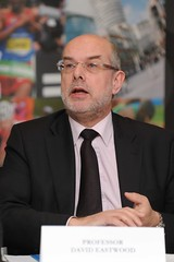 University of Birmingham Vice Chancellor David Eastwood, who had the biggest pay rise of all the university heads investigated in the Guardian's report.  Image from Birmingham News Room's photostream