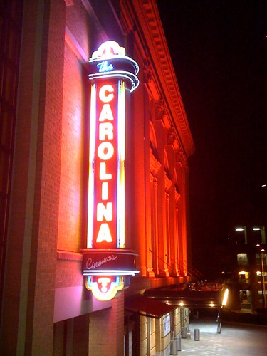 Carolina Theater neon