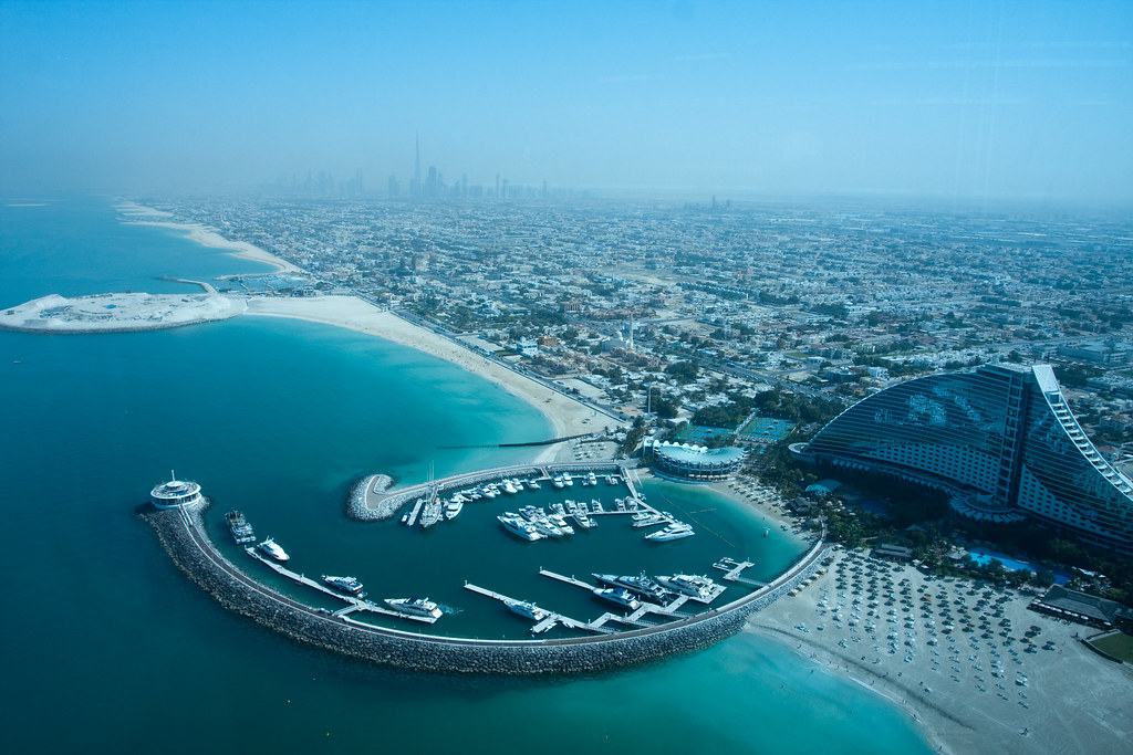 Birdview of Dubai