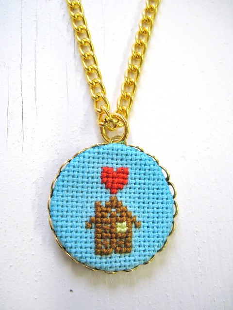 Cozy House Necklace