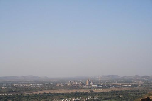 india factory aerial rajasthan chittorgarh