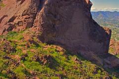 the saddle on Camelback mountain