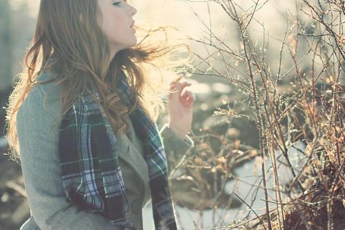 20 foto potret backlit dengan pencahayaan alami