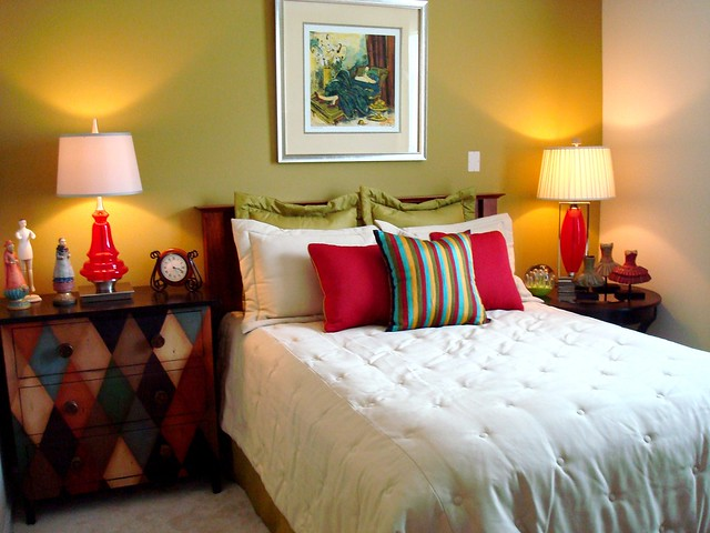 Large bedrooms with accent walls flickr photo sharing - Bed room photo ...