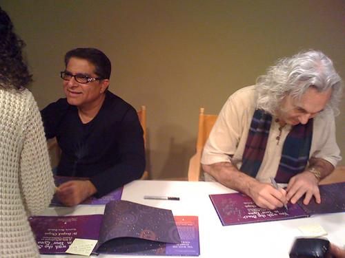 Deepak Chopra and DaveZaboski
