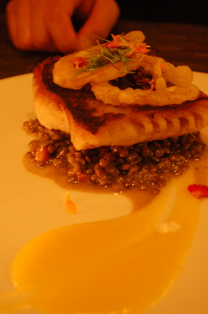 KOPrime Cod with Lentils   Flickr - Photo Sharing!