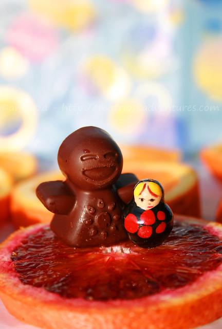 la matrioska e l'omino di cioccolato