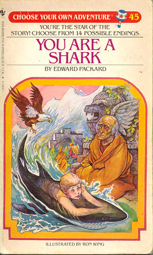 Choose Your Own Adventure #45 You Are A Shark (1985)