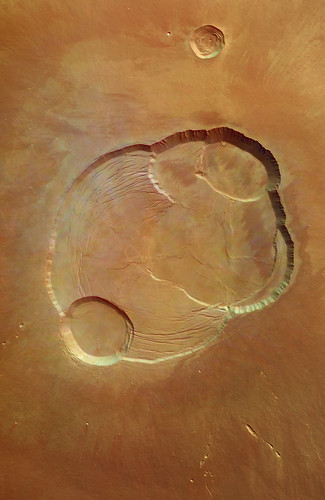 The largest volcano in the Solar System