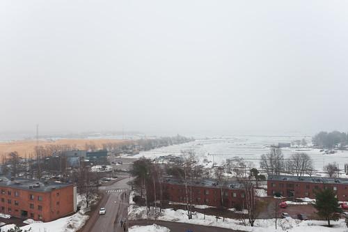 rain weather fog finland spring kotka d700 2470mmf28g