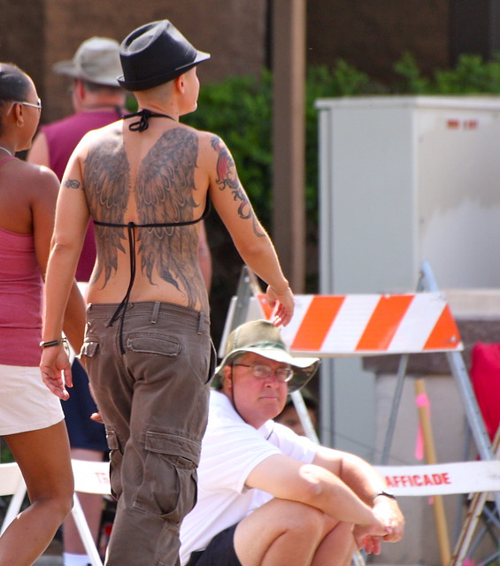 Phoenix Gay Pride Parade, April 17, 2010.