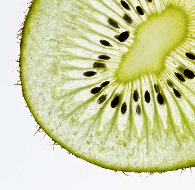 Kiwi Slice Drawing Kiwi Fruit