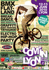 magazine(0.0), bicycle motocross(1.0), vehicle(1.0), bmx bike(1.0), sports(1.0), freestyle bmx(1.0), cycle sport(1.0), flyer(1.0), poster(1.0), advertising(1.0),
