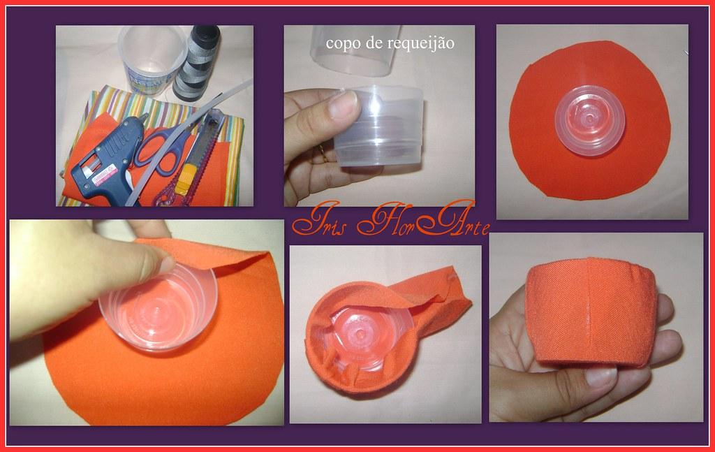 Como fazer um vasinho para lembrancinhas com material reciclavel.