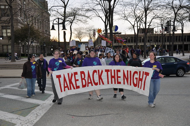 Lowell Take Back The Night Rally: April 2010