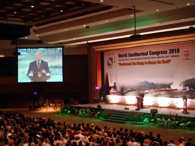 World Geothermal Congress 2010 Bali