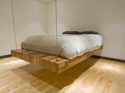 BRC Designs: Suspended Birdseye Bed by BRC Designs