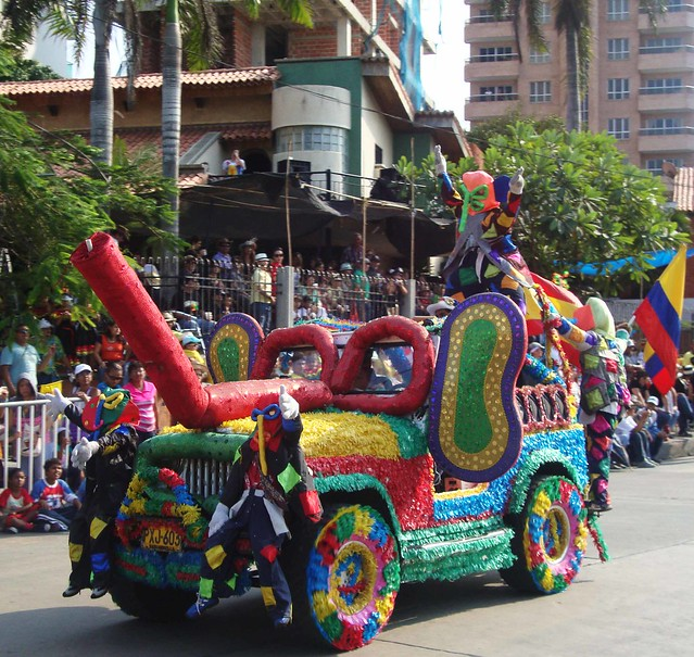 Carroza Marimonda Del Carnaval De Barranquilla | Flickr - Photo