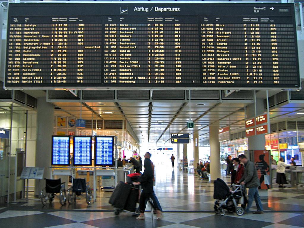 Flughafen M 252 Nchen Airport Munich A Photo On Flickriver