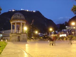 Imagen de Parque de los periodistas cerca de Bogotá.