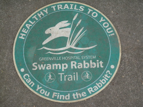 Sign on the trail