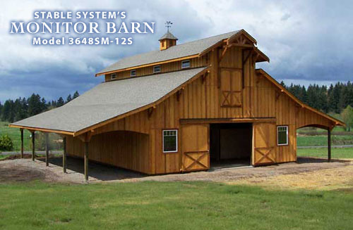 Monitor barn flickr photo sharing for Monitor style barn plans