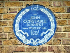 Photo of John Constable blue plaque