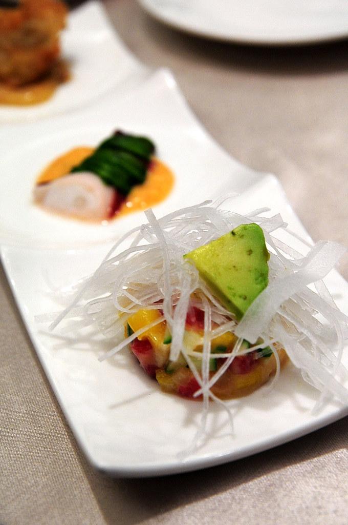 大鵬灣食堂-鮪魚三味前菜