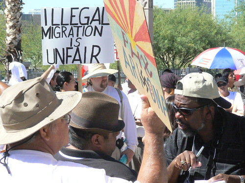 Illegal Migration is Unfair: Argument